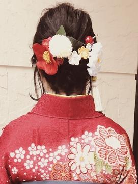 *【袴】・【振袖】ショートヘアアレンジ*