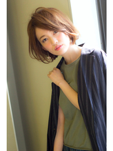 VERY系大人女性のショートボブ☆海老名 ザシー アフロート VERY.10