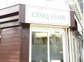 サンク ヘアー(CINQ HAIR)