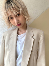 【Ticro_ueyama】ホワイトボブ.9