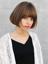 【BUMP 表参道】大人かわいい 小顔ショートボブ 《佐藤健一》1.54