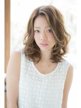 【美容室へアマックス 釧路】大人かわいい 無造作 ふわミディ
