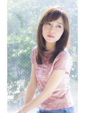 bifino松尾昇路 大人かわいいストレート系小顔スタイル