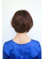 Soleil菊地/大人かわいい前髪セシルカットココアブラウン小顔