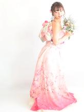 和装ドレス着付け¥21600 入学式.23