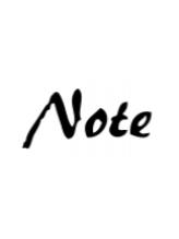 ノート(Note)