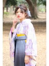 【Neolive & 渋谷店】卒業式 袴着付け+メイク+へアセット  卒業式,着物.2