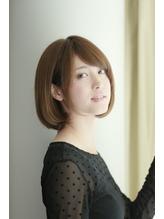 ベージュカラーの大人かわいいクラシカルボブ【横浜石川町店】 .47