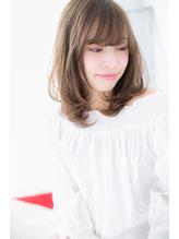 【Lab古河】くせ毛風ゆるふわ抜け感セミディd.37