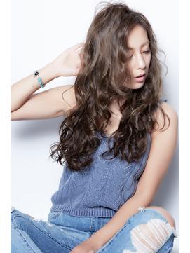 大人クール外国人風デジタルパーマ【HAIR PEOPLE原宿×藤森】