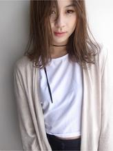 〔people〕切りっぱなしの質感プラス毛先パーマスタイル 前髪パーマ.35