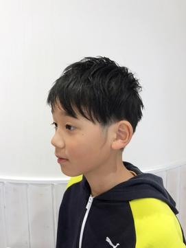 キッズカット☆ツーブロック♪アシメ【sola:neolive相模大野店】