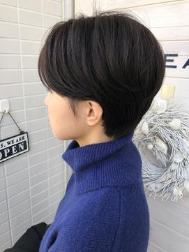 [OCEAN Hair&Life]美シルエット☆耳かけハンサムショート☆