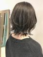 【emis】20代30代 外ハネレイヤーボブ ウルフ 透明感カラー 人気