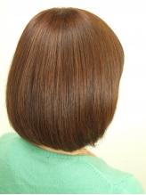 髪の流れやクセを計算しながらカット!忙しい朝のお手入れが楽になるスタイルをご提案。