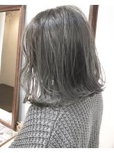 【Marl】グレージュカラーの抜け感ロブスタイル♪ .26