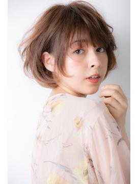 【Euphoria銀座本店】大人かわいいワンサイドショート