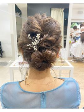 ◆◇アップスタイル 結婚式アレンジ◇◆