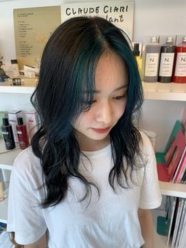 【KoMoNo】前髪インナーカラー【RIN】