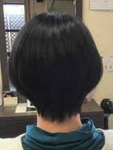 黒髪ピュアなショートボブ.43