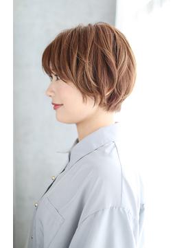 前髪イメチェンくびれイヤリングカラー美髪ラベンダーカラー/035