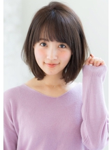 joemi 3Dカラージグザグバングノットヘアヘルシーレイヤー 花野.12