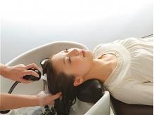 炭酸泉の力で頭皮もぽかぽか…ハリやコシ、ツヤのある髪へ