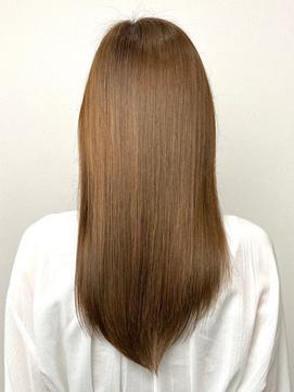 緊張の初髪質改善トリートメント★髪の柔らかさに驚き感動する♪