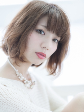 くしゃくしゃウェービーボブ【LUXBE京橋店】