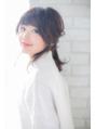 【canon】ゆるパーマで楽々☆1分でできるラフアレンジ