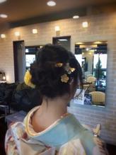 編み込みスタイル まとめ髪.39