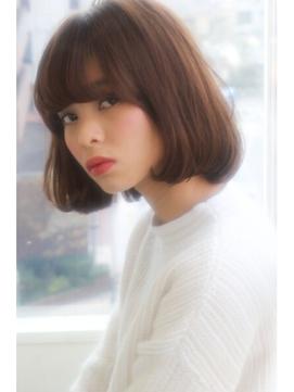 【lamp hair 池袋】女子力UP◎アンティークボブ♪No.4