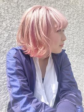 ショート ◇ ペールピンク