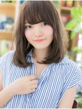 *bliss戸田公園*ナチュかわ♪斜めバングの黒髪風ワンカールa.12
