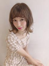 ふんわり外ハネミディアムヘア☆.27