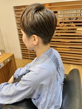 [idea菊地]大人女子×刈り上げ女子×ハイライト