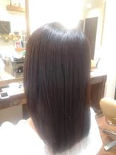 【潤い溢れるツヤ髪】髪質改善カラー.9