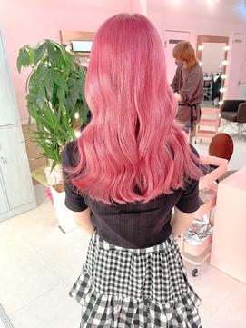 ピンクカラー!