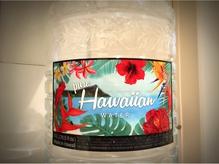 ハワイ産コーヒーやドリンク類は全てハワイアンウォーターを使用