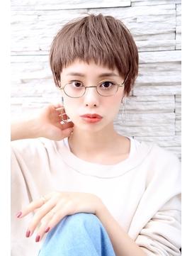 【OCEAN Hair&Life】ショート/ハイライト/ケアブリーチ/ボブ