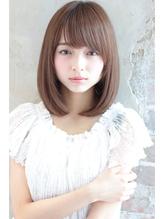 小顔になれるふんわりロブ☆柔らかストレートスタイル エアリー.39