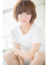 こなれ☆無造作ウェーブショートd【アッシュ高崎】.36