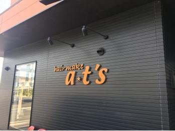 ヘアメイク エイティーズ(hair make a,t's)