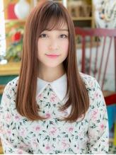 *bliss上尾*ウルツヤ☆大人かわいい3Dカラー小顔ロングa.24