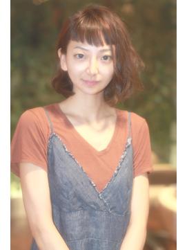 ヘップバーンバングボブ hair produce by ozy☆