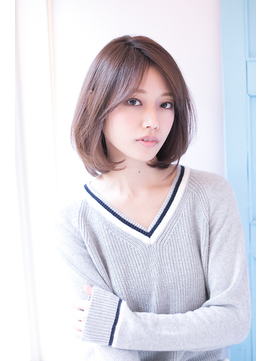 【shiomi H】 大人可愛いワンカールボブ