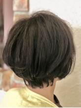 白髪染め×オリーブブラウン+自然なストカール.31