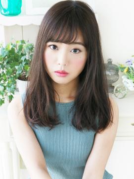 【ジュレベール松田】 清純ナチュラル可愛い☆さらふわセミディ