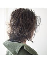 【efil. Hair design】クリーミーベージュ×ハイライト.23