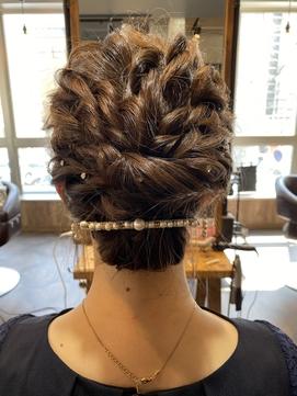 ヘアセット/ゆるふわセット/まとめ髪